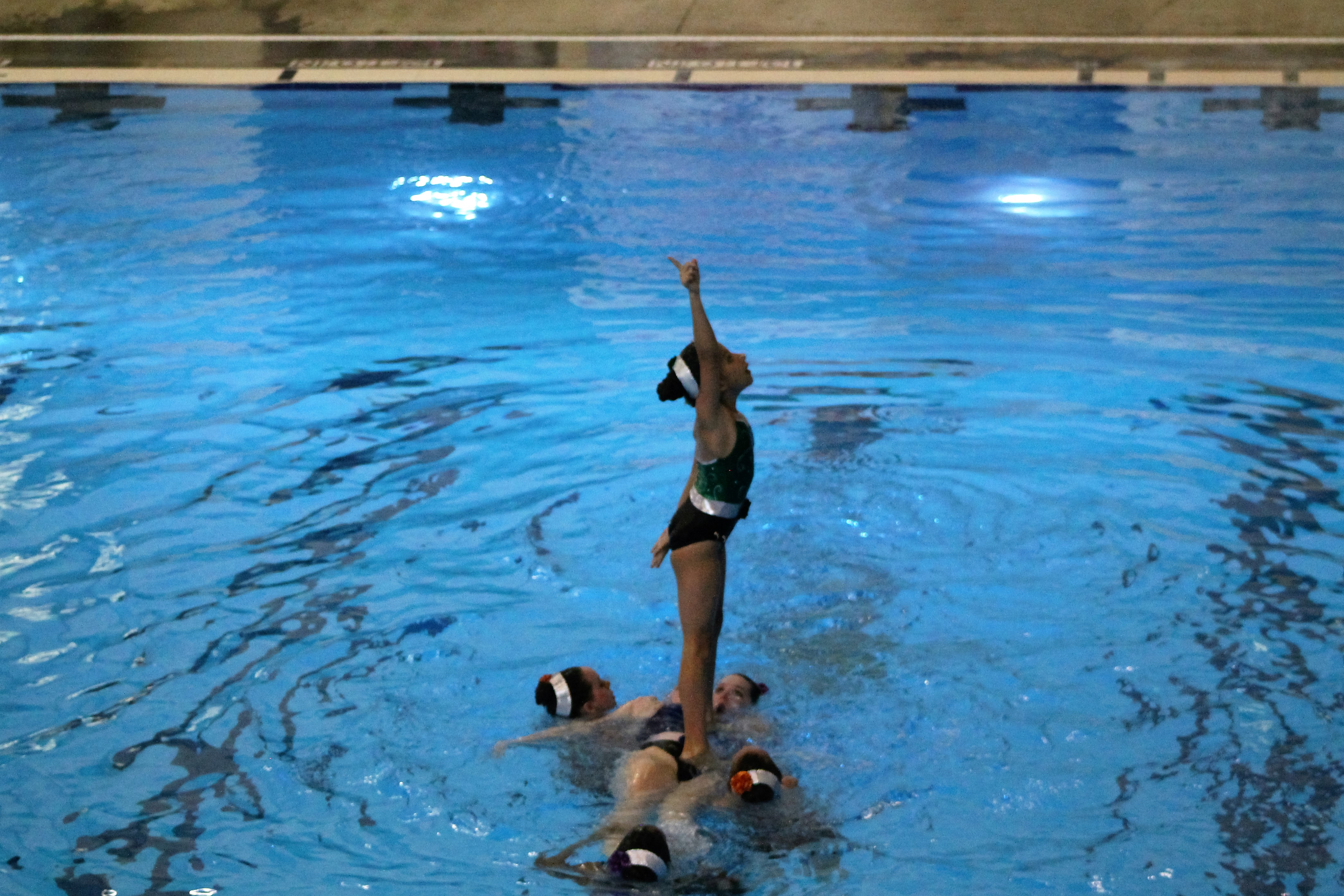 Swim team breeding