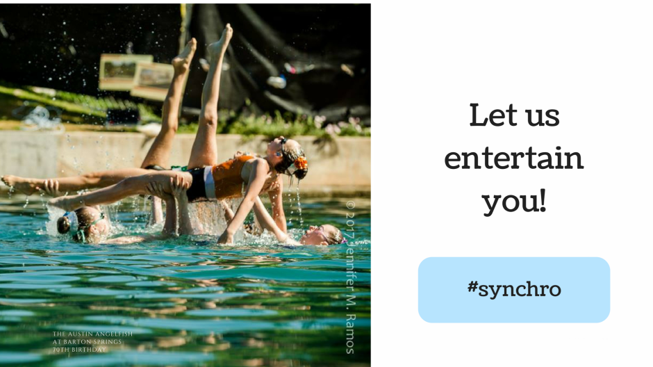 syncho - let us entertain you