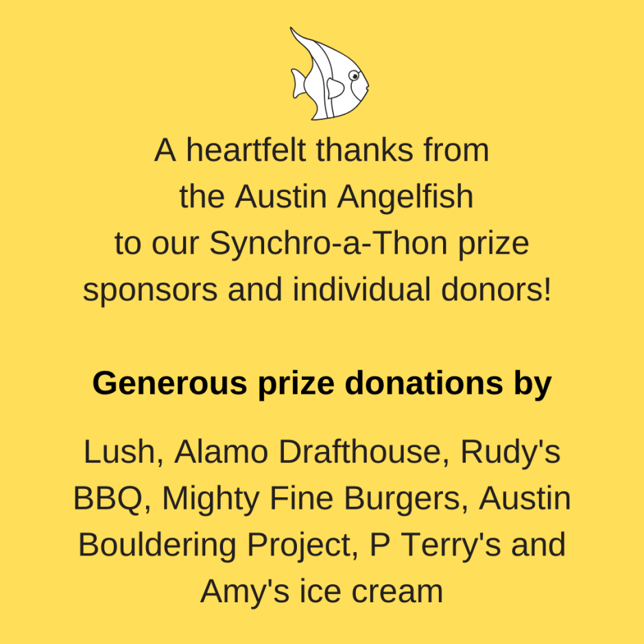 thank you synchro-a-thon